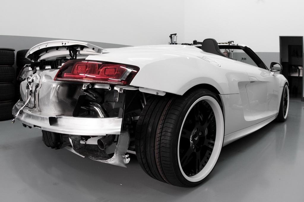 Populaire Wheelsandmore Audi R8 V10 Spyder Released - autoevolution GE08