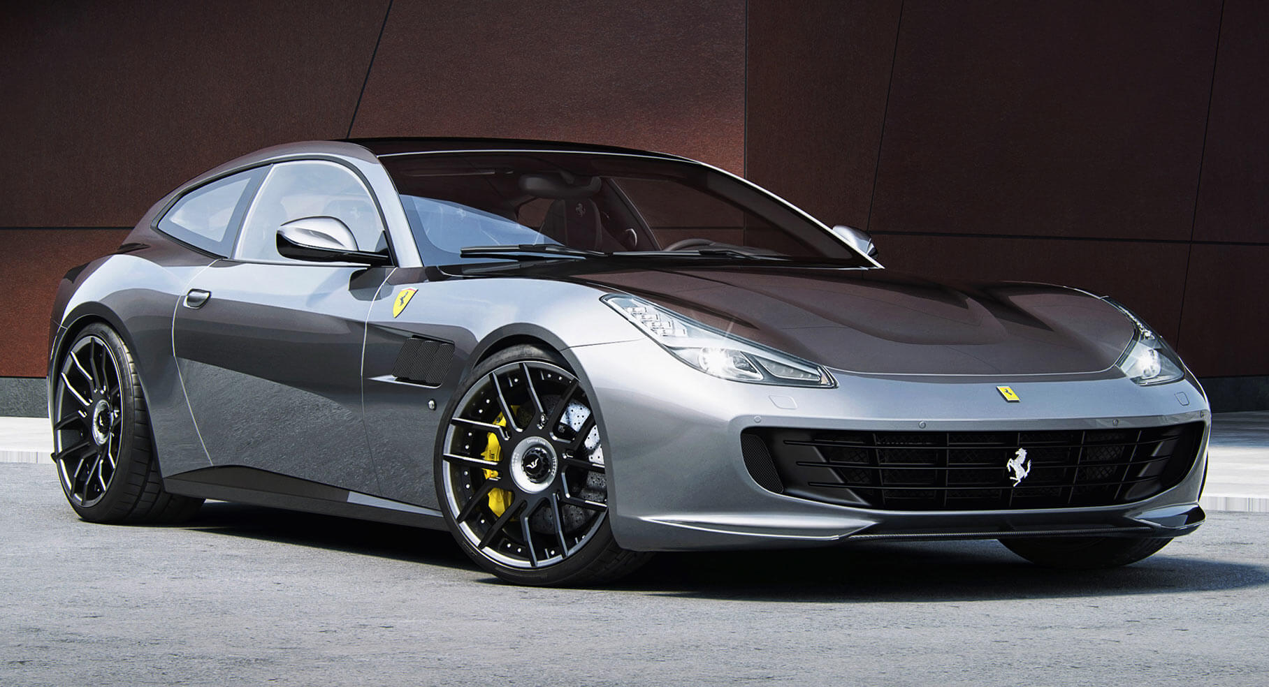 Ferrari FF Gets Four Doors in New Rendering - autoevolution
