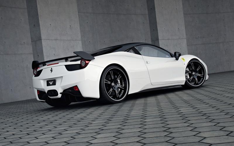 Wheelsandmore Unveils The Ferrari 458 Italian Stallion