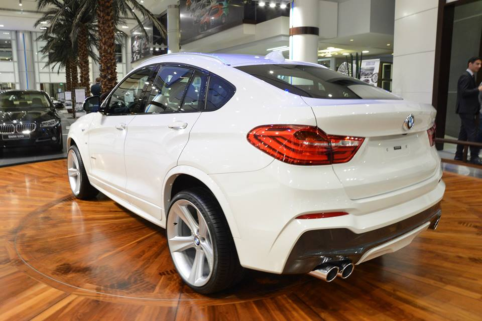 2017 BMW M6 Gran Coupe >> White BMW X4 Looks Fresh on Style 128 Rims - autoevolution