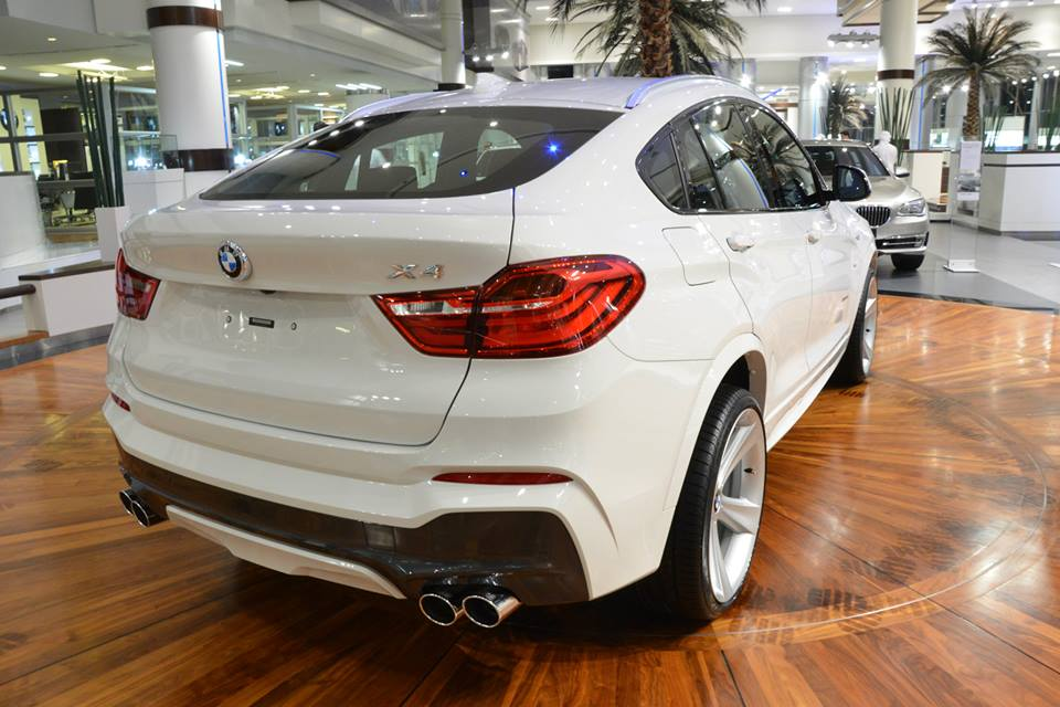 White Bmw X4 Looks Fresh On Style 128 Rims Autoevolution