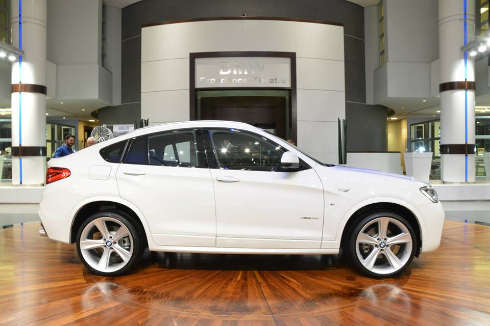 White Bmw X4 Looks Fresh On Style 128 Rims Autoevolution