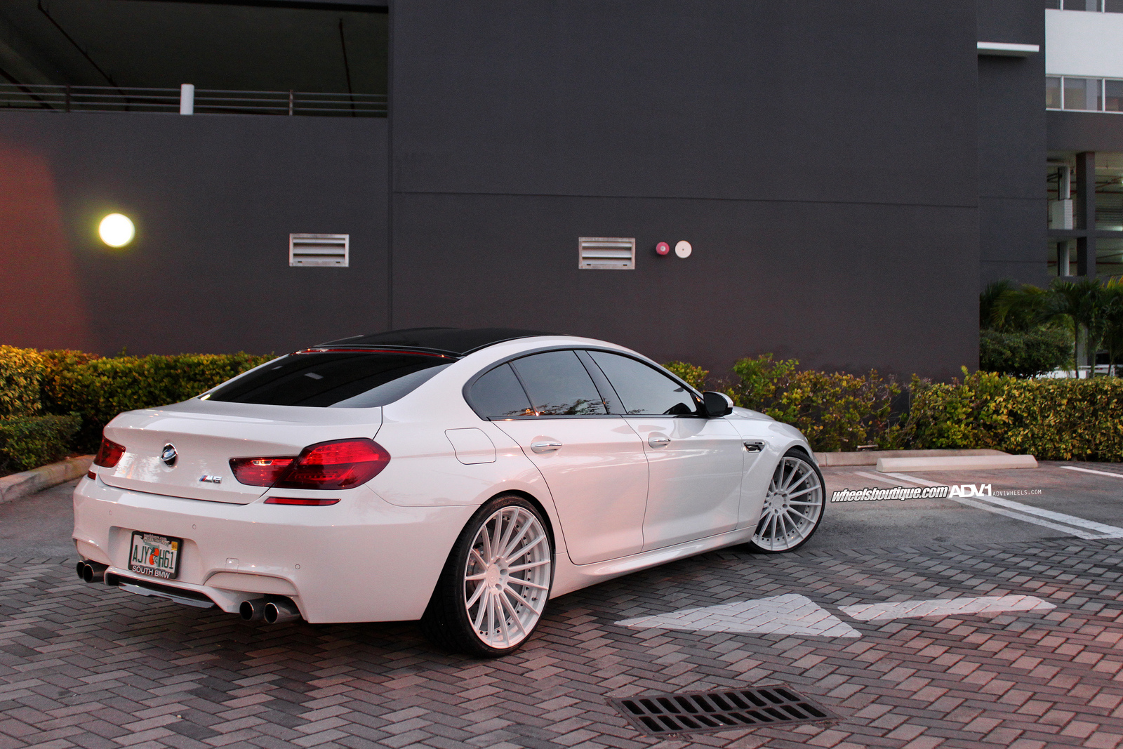 BMW M6 Gran Coupe >> White Is Back in Fashion: BMW M6 Gran Coupe Proves It ...