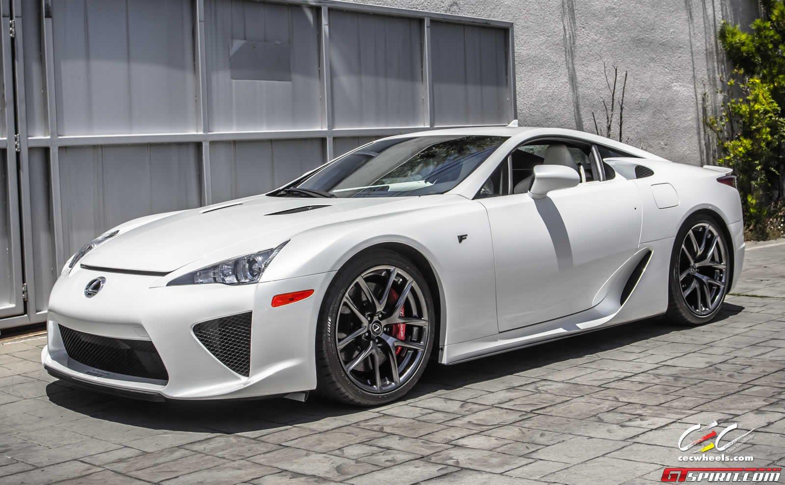 Infiniti Q50 For Sale >> White Lexus LFA Goes for Sale - autoevolution