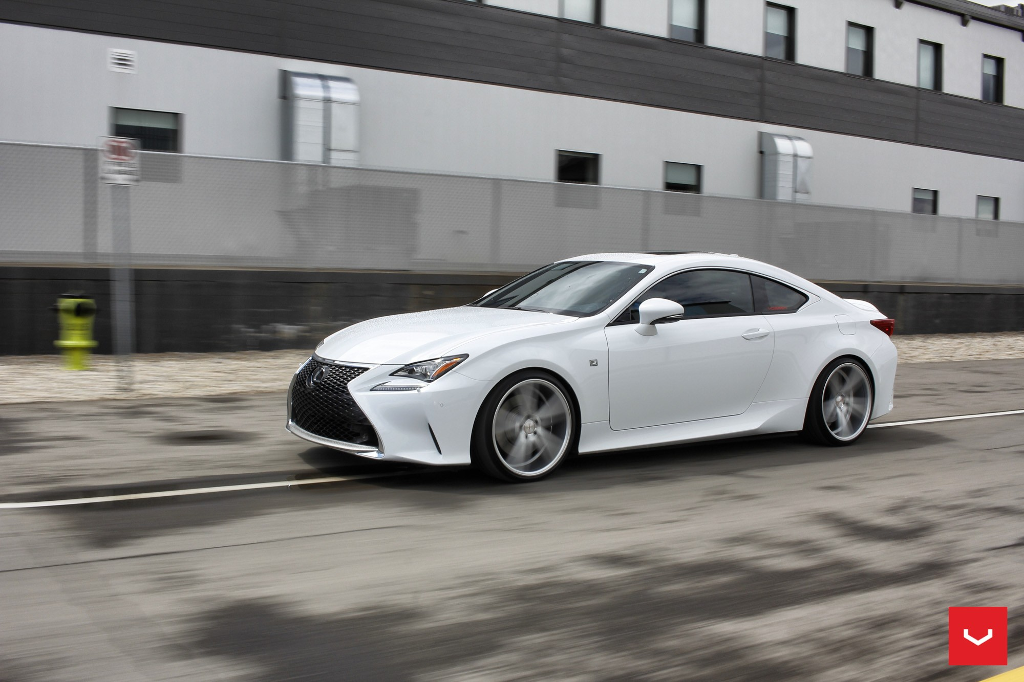 Toyota 4 Wheel Drive >> White Lexus RCF on Vossen Wheels Has the Look of a Cult ...