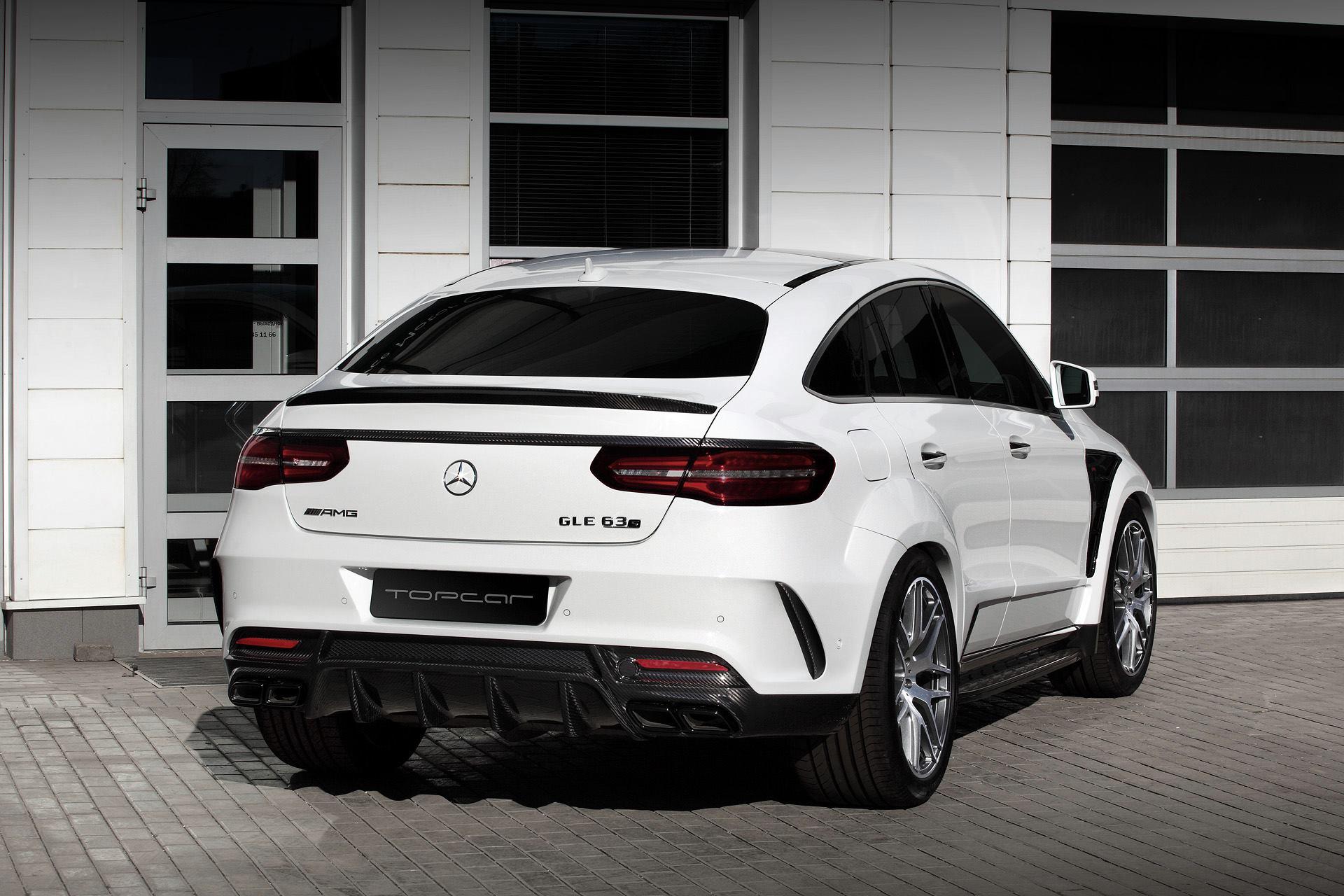 Mercedes Suv Coupe : white mercedes gle coupe 63s with topcar inferno kit has carbon details autoevolution ~ Medecine-chirurgie-esthetiques.com Avis de Voitures