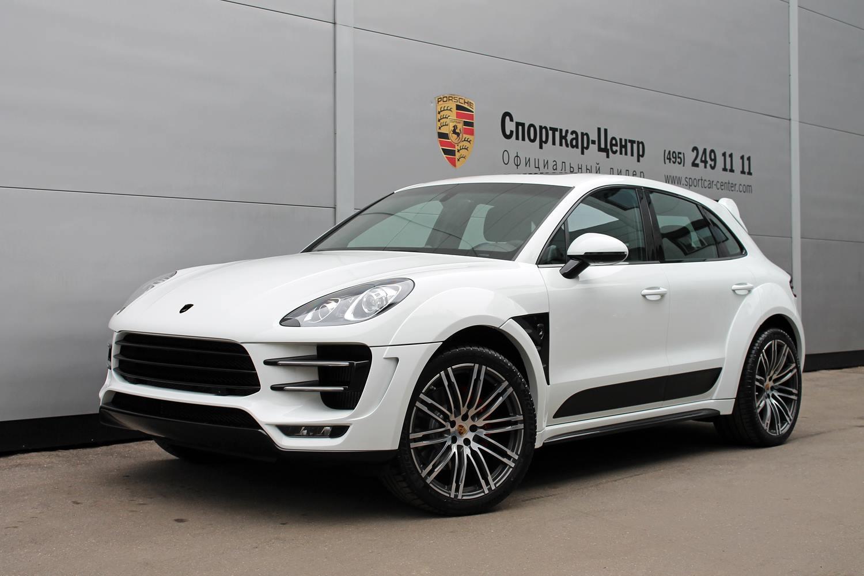 White Porsche Macan Ursa by Topcar for Sale - autoevolution