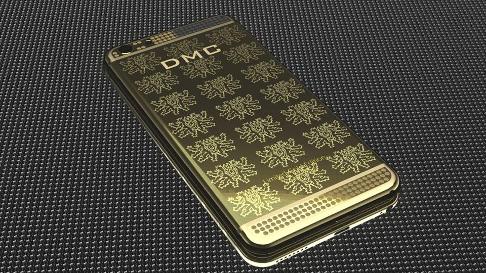 24 karat gold iphone 6 with diamonds