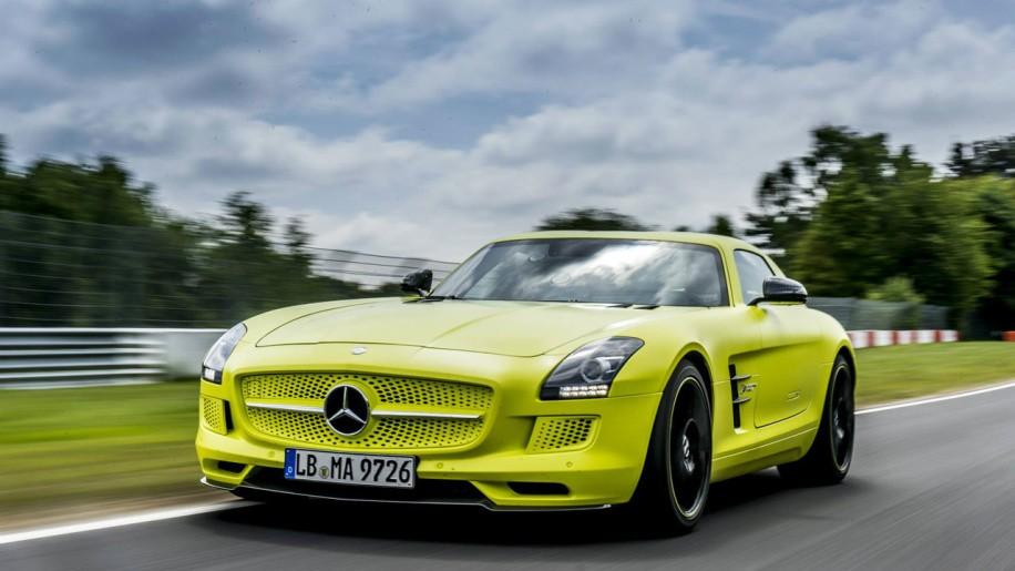Mercedes sls amg electric