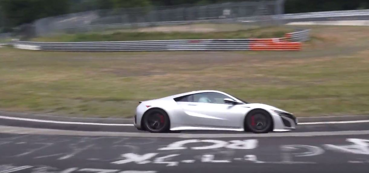 2017 Acura NSX Testing Hard on Nurburgring, Is An Update Coming? - autoevolution