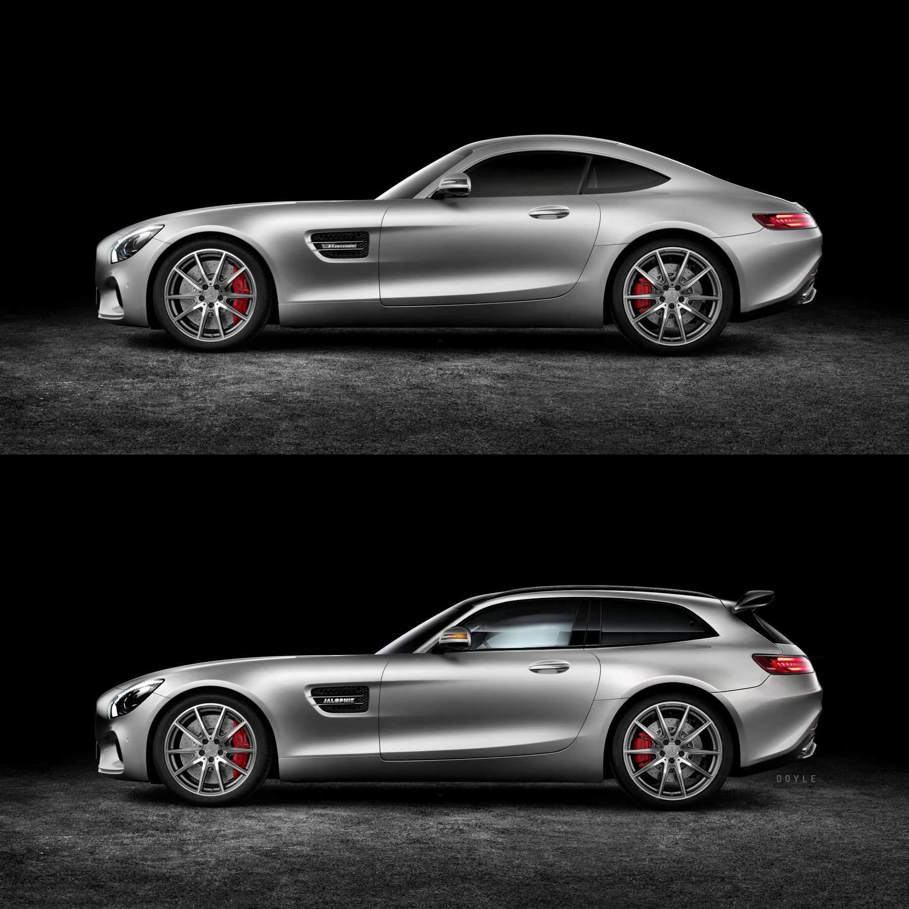 why the mercedes amg gt shooting brake needs to be built autoevolution. Black Bedroom Furniture Sets. Home Design Ideas