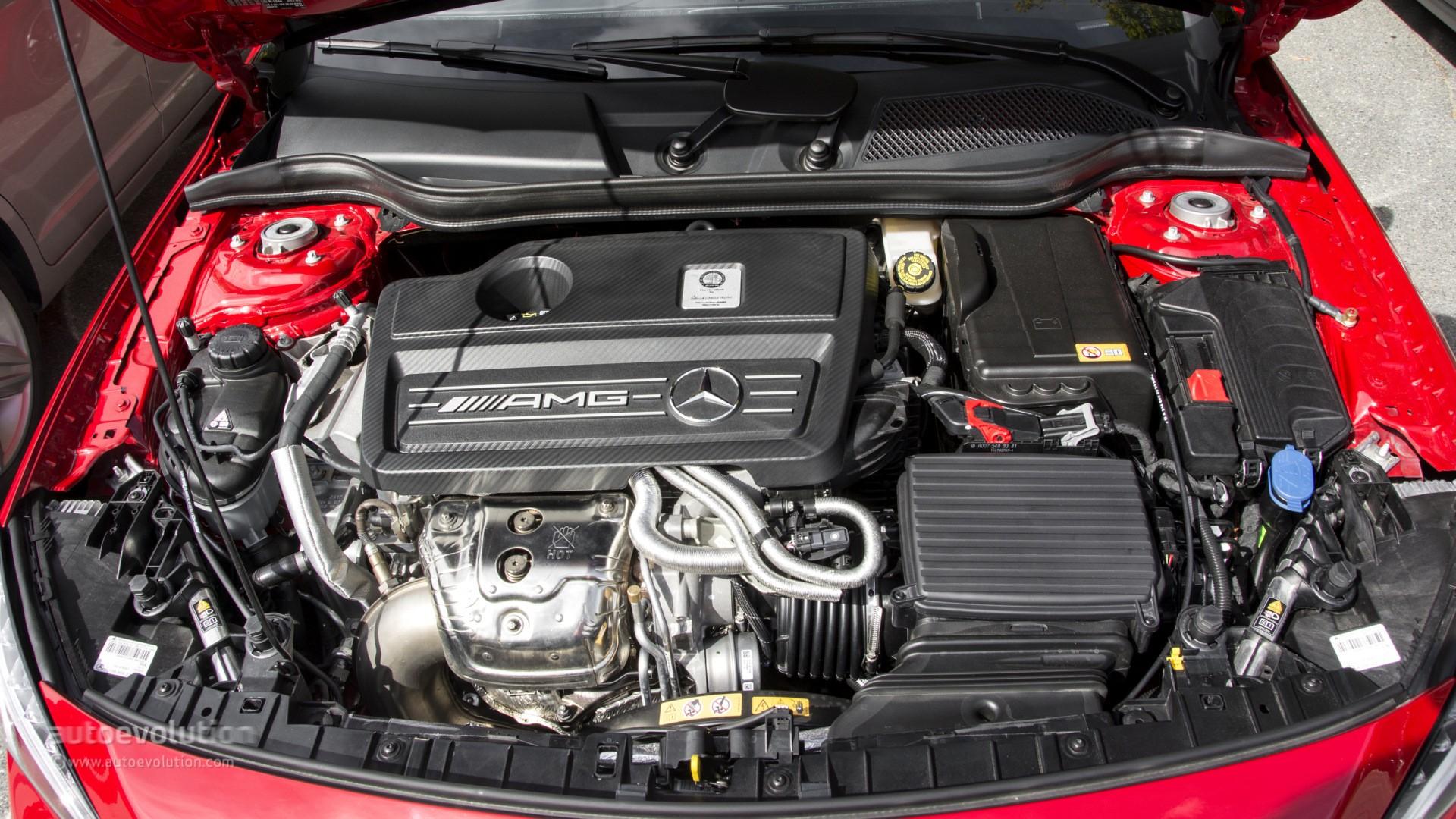 Mercedes gla engine