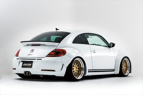 Widebody Vw Beetle Gsr By Alpil Shows A Hint Of Porsche