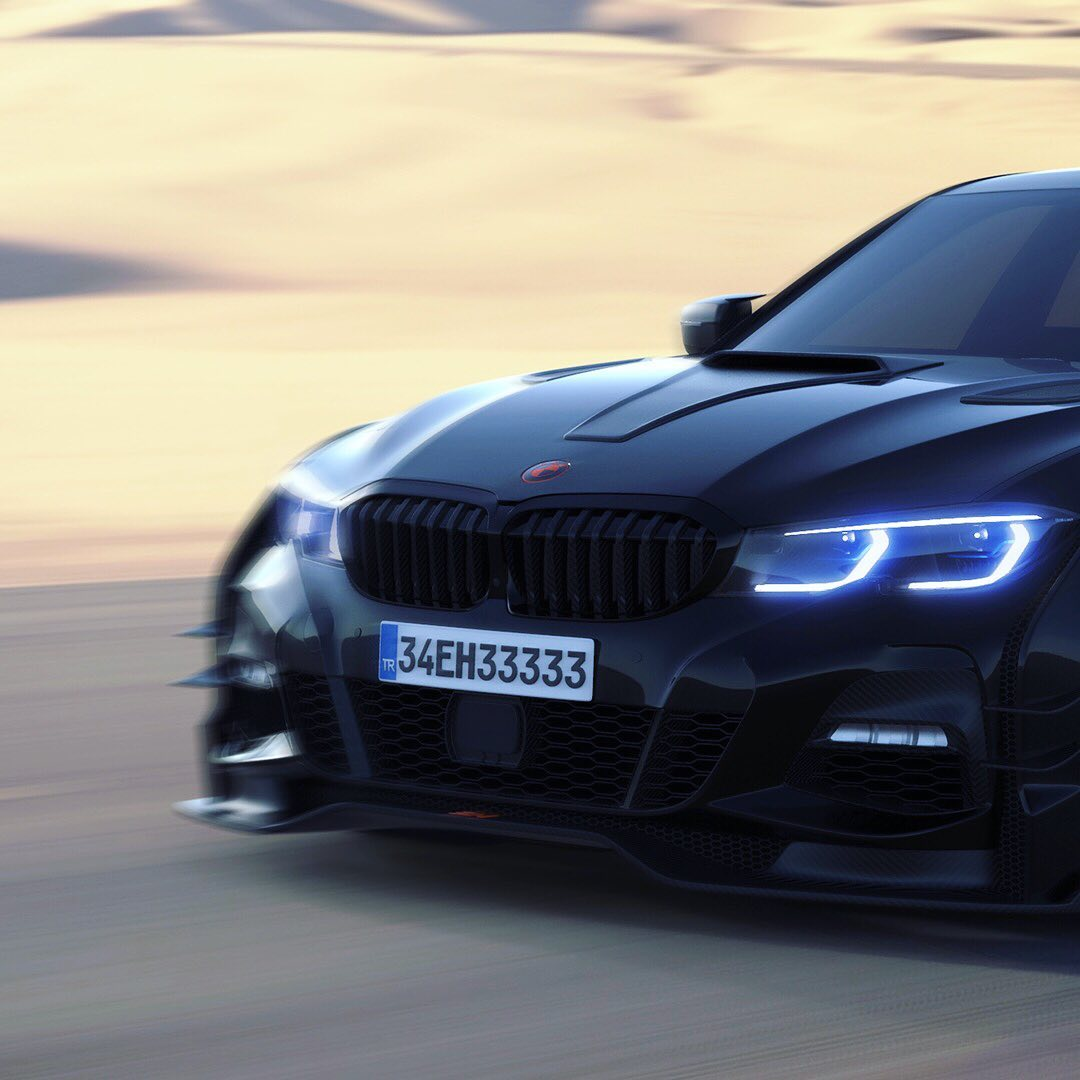 "Widebody 2020 BMW 3 Series ""Clubsport"" Looks Way Better"