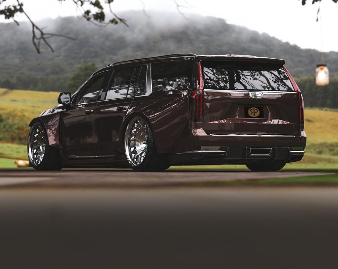 2021 Cadillac Escalade Looks More Modern and Clean in This ...