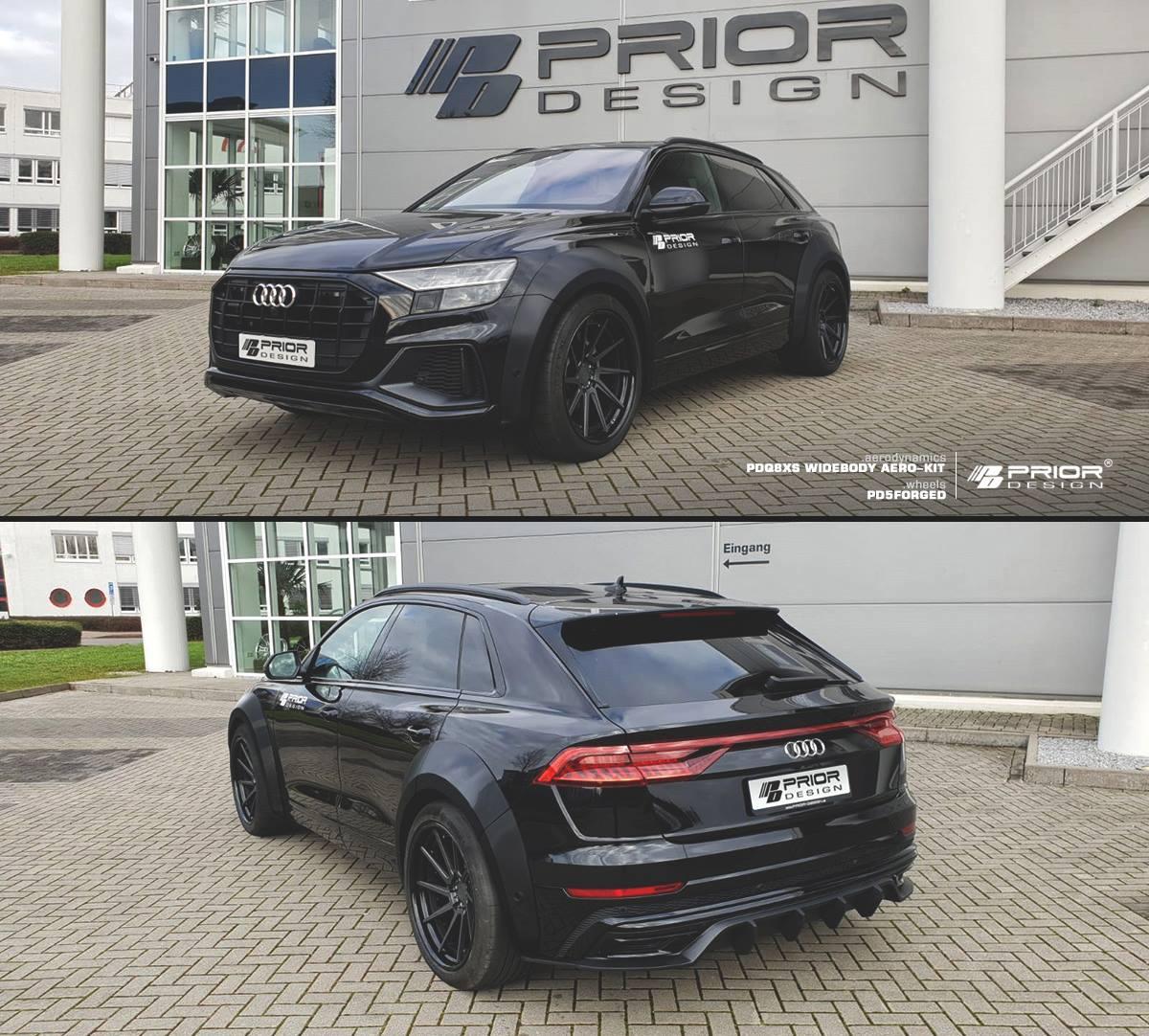 Widebody Audi Q8 Revealed By Prior Design