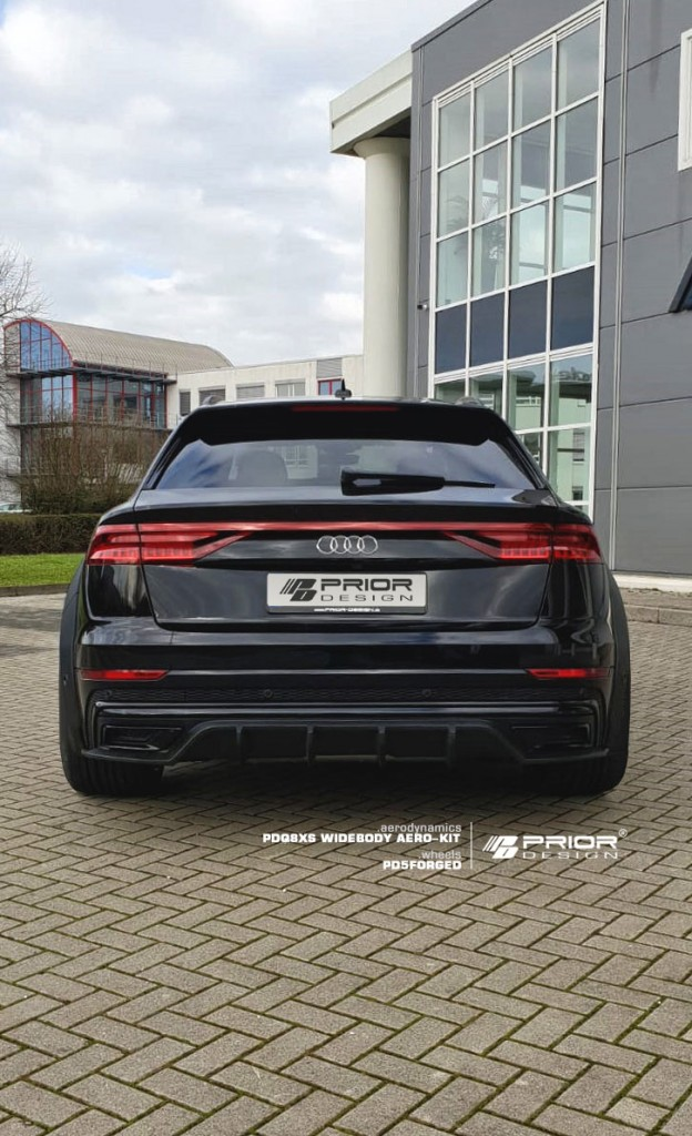 Widebody Audi Q8 Revealed by Prior Design - autoevolution