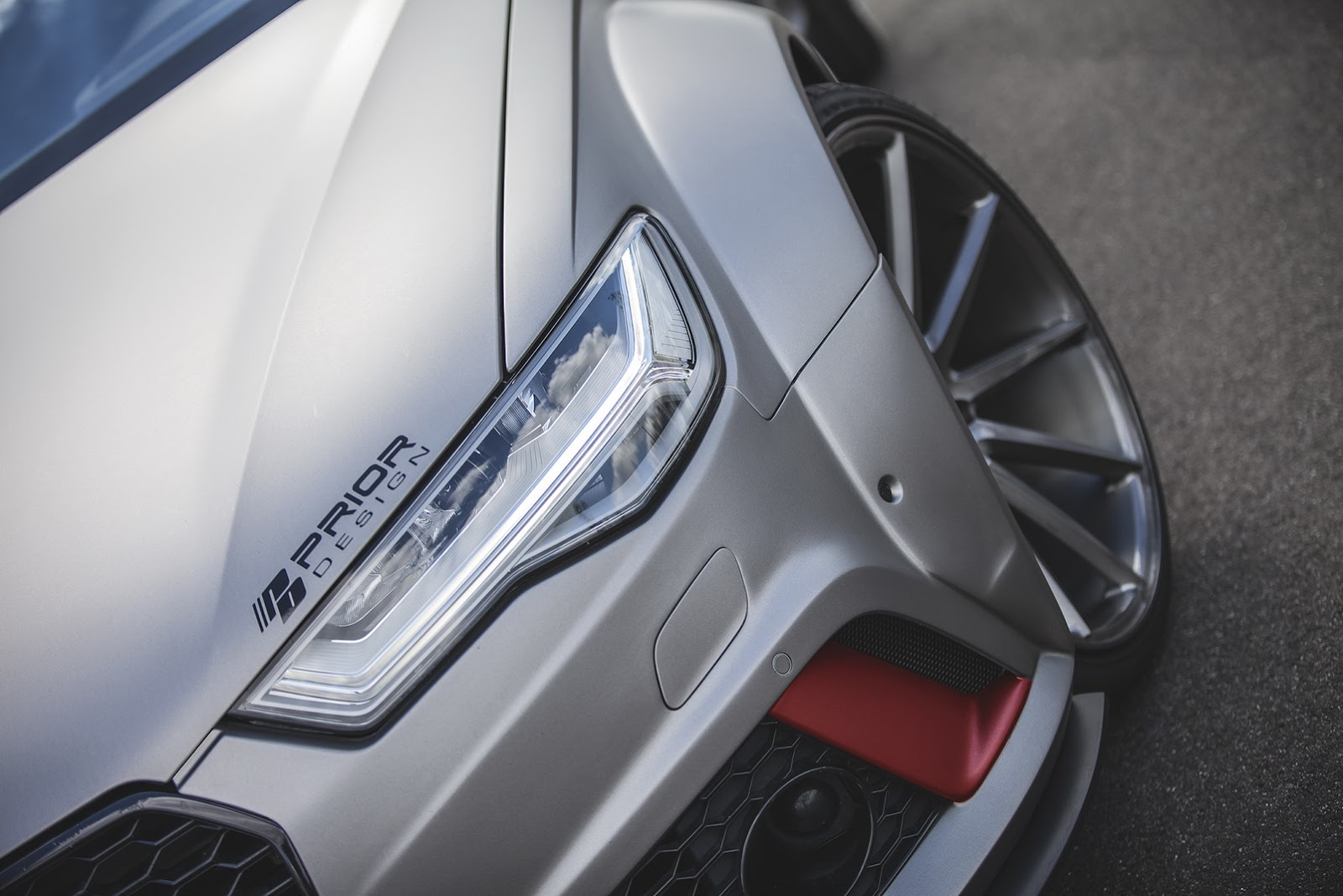 Widebody Audi RS6 by Prior Design Shows Muscles in Monte