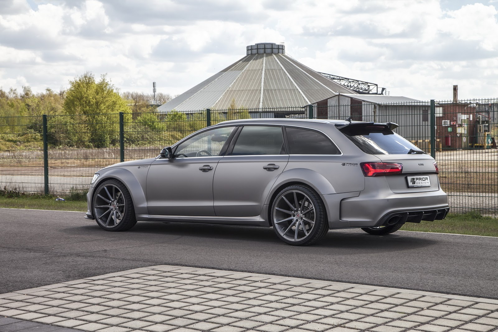 Widebody Audi RS6 by Prior Design Shows Muscles in Monte Carlo - autoevolution