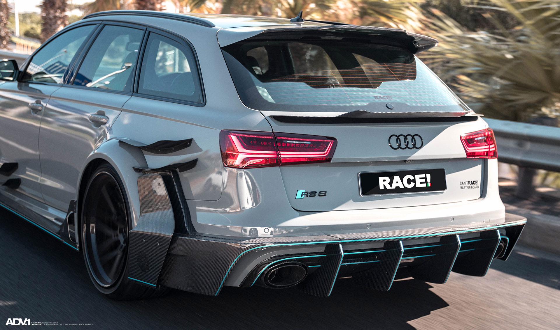 widebody audi rs6 from south africa looks like a carbon. Black Bedroom Furniture Sets. Home Design Ideas