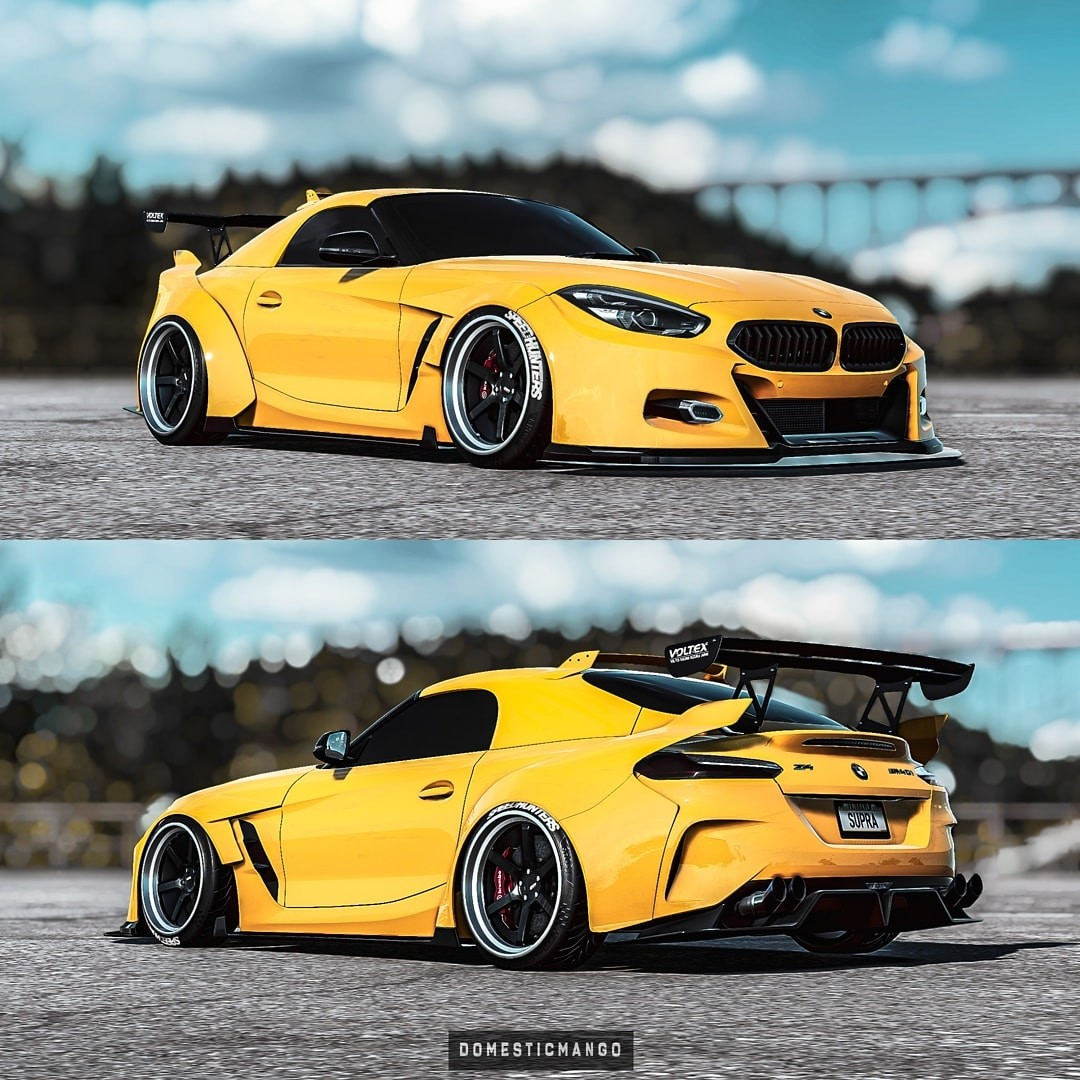 2019 BMW Z4 M Coupe Rendered as the German Supra ...