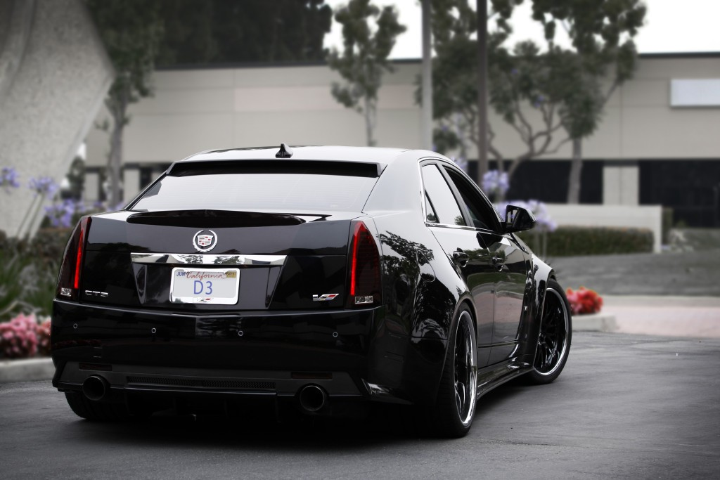 Widebody Cadillac Cts V Flexes Its Muscles Autoevolution