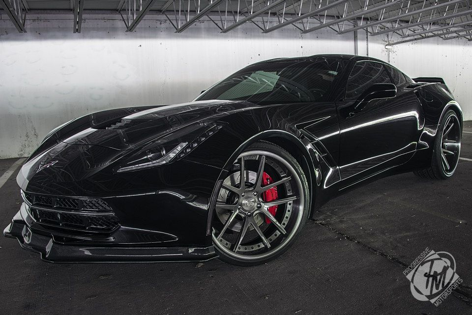 Widebody Corvette Is Looking For A New Owner Autoevolution