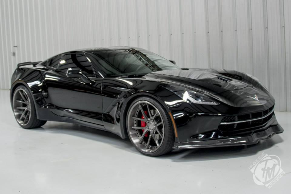 widebody corvette is looking for a new owner autoevolution. Black Bedroom Furniture Sets. Home Design Ideas