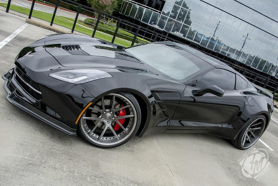 Widebody Corvette is Looking for a New Owner - autoevolution
