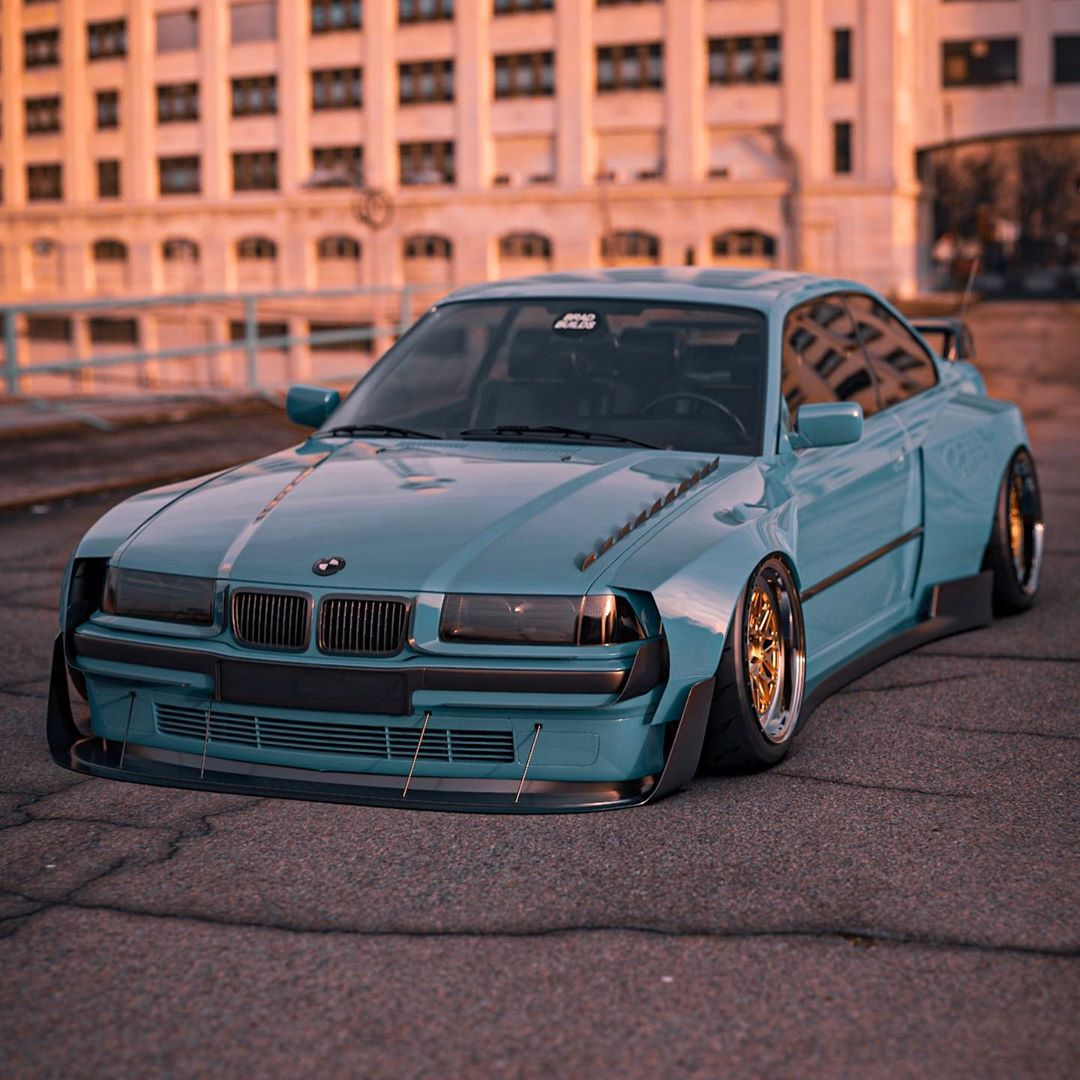 Widebody E36 Looks Like The Next Coolest Bmw M3 Autoevolution