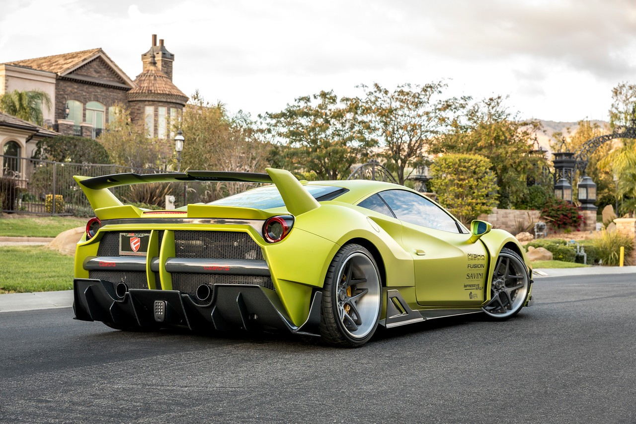 Widebody Ferrari Widebody By Misha Looks Is A Budget Fxx K Evo