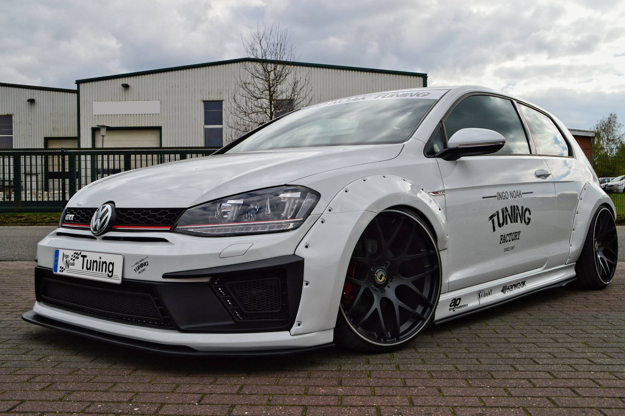 Widebody Golf 7 Gti Presented By Ingo Noak Autoevolution