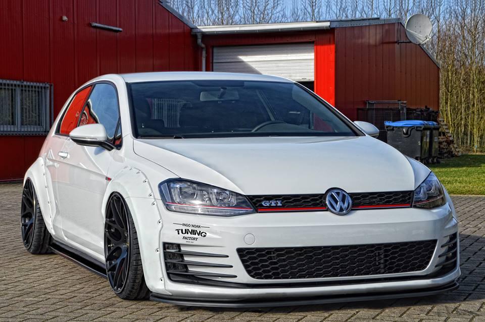 widebody golf 7 gti presented by ingo noak autoevolution. Black Bedroom Furniture Sets. Home Design Ideas