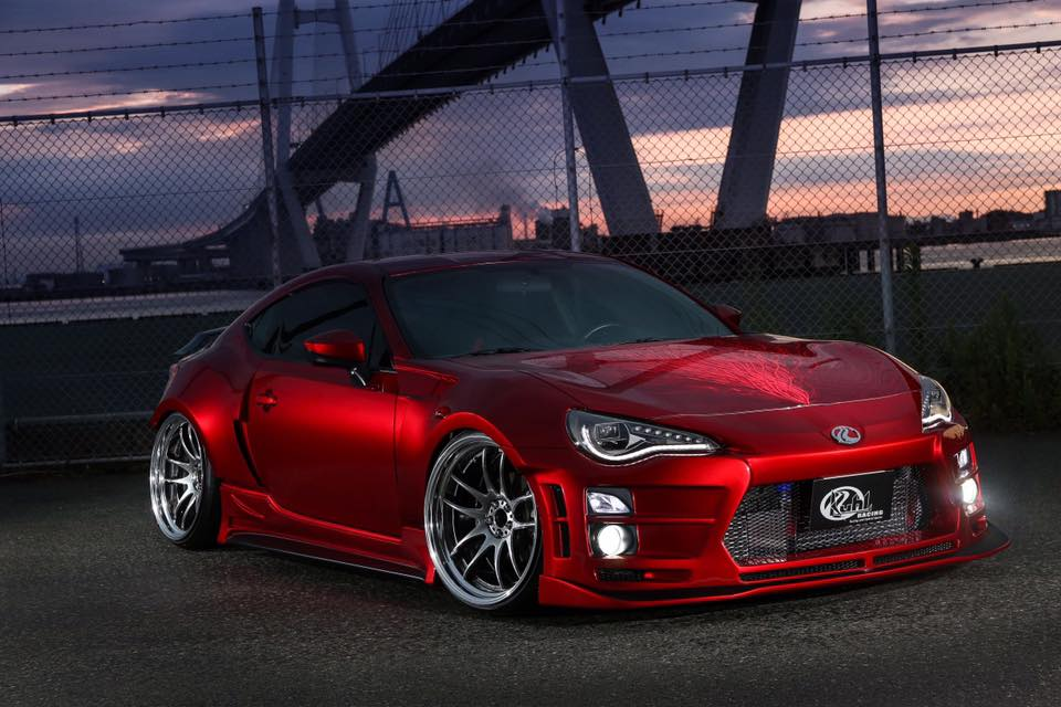 Widebody Toyota 86 By Kuhl Bow To Its Japanese Tuning