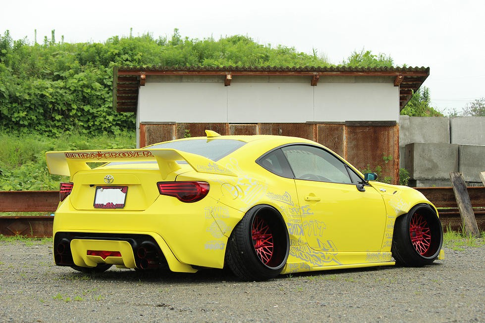 Ford Camber >> Widebody Toyota GT 86 by 326power Has Crazy Wheels and Low ...