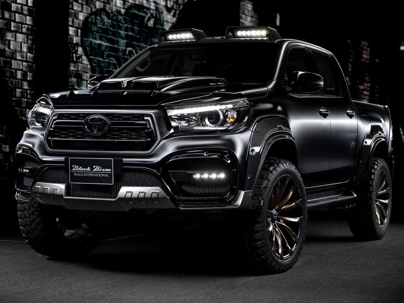 Widebody Toyota Hilux Sports Line Black Bison Edition Is