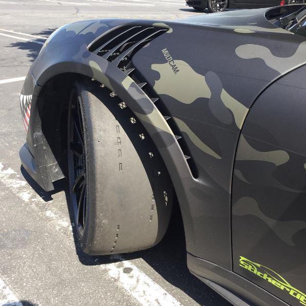 Wildest Porsche 911 Gt3 Rs Pdk Mixes Wwii Shark Teeth