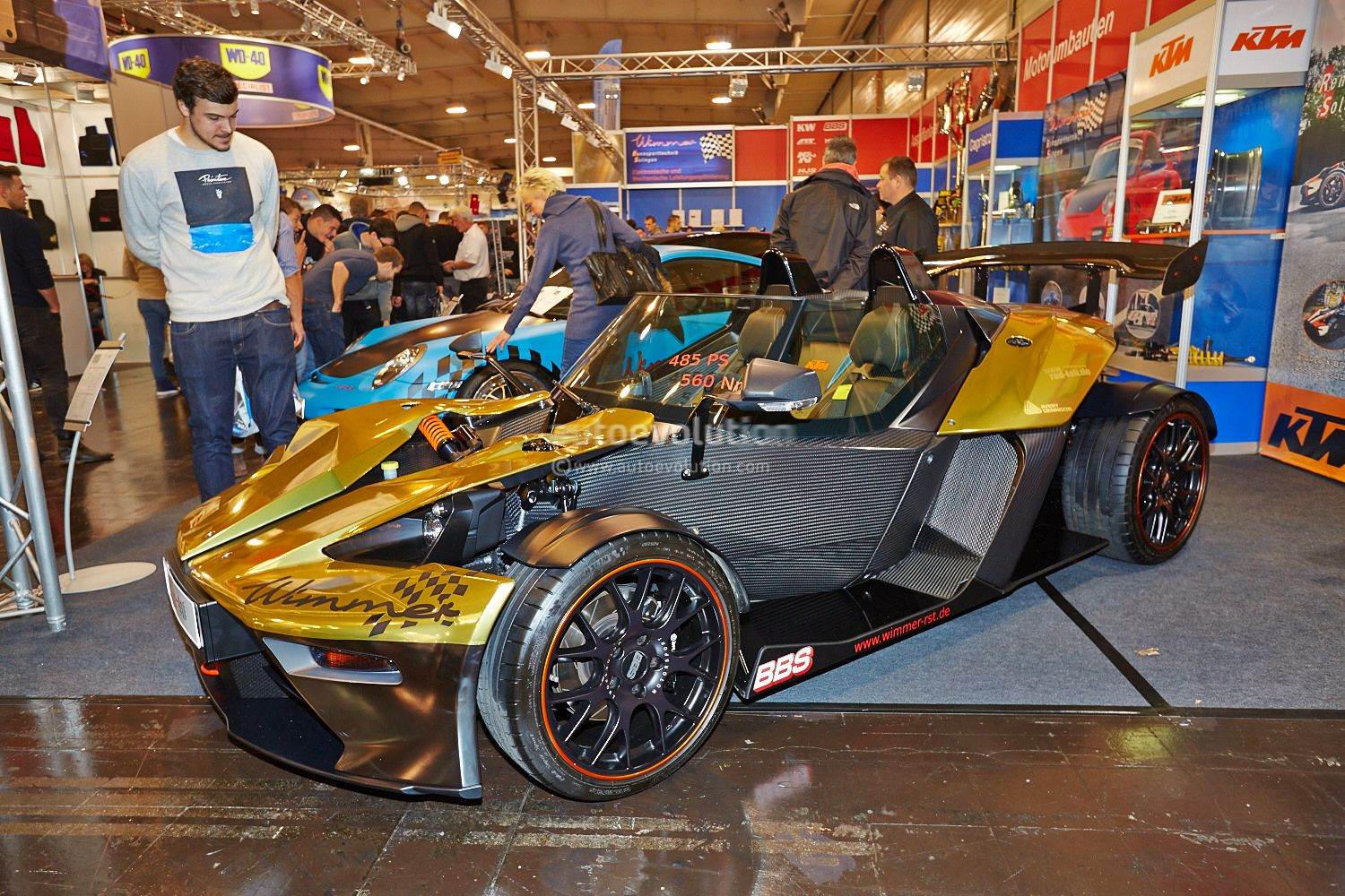 wimmer rs ktm x bow gt brings its 485 hp to the essen motor show 2014 live photos autoevolution. Black Bedroom Furniture Sets. Home Design Ideas
