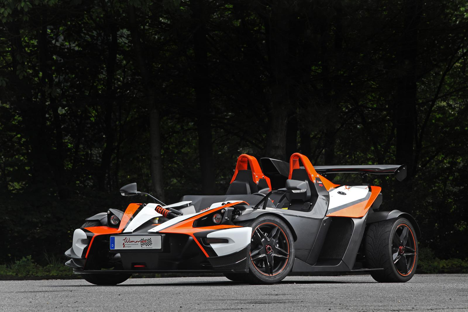 Wimmer Tunes the KTM X-Bow Lineup - autoevolution