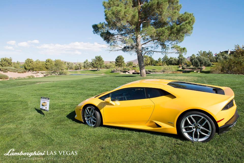 Lamborghini Huracan Golf Shootout