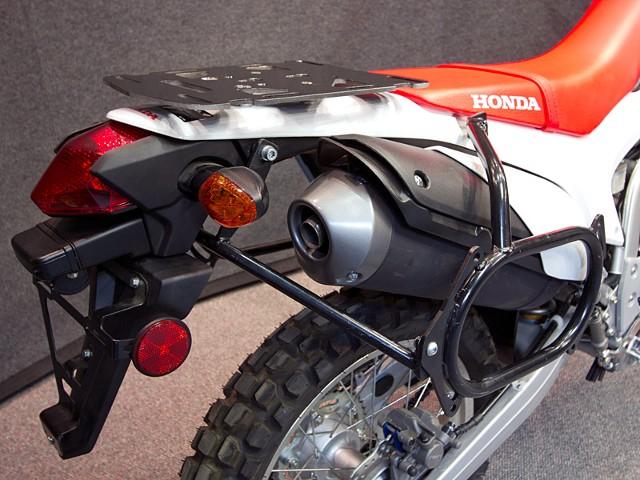 Wolfman Shows Nice Honda CRF250L Touring Bag Racks ...
