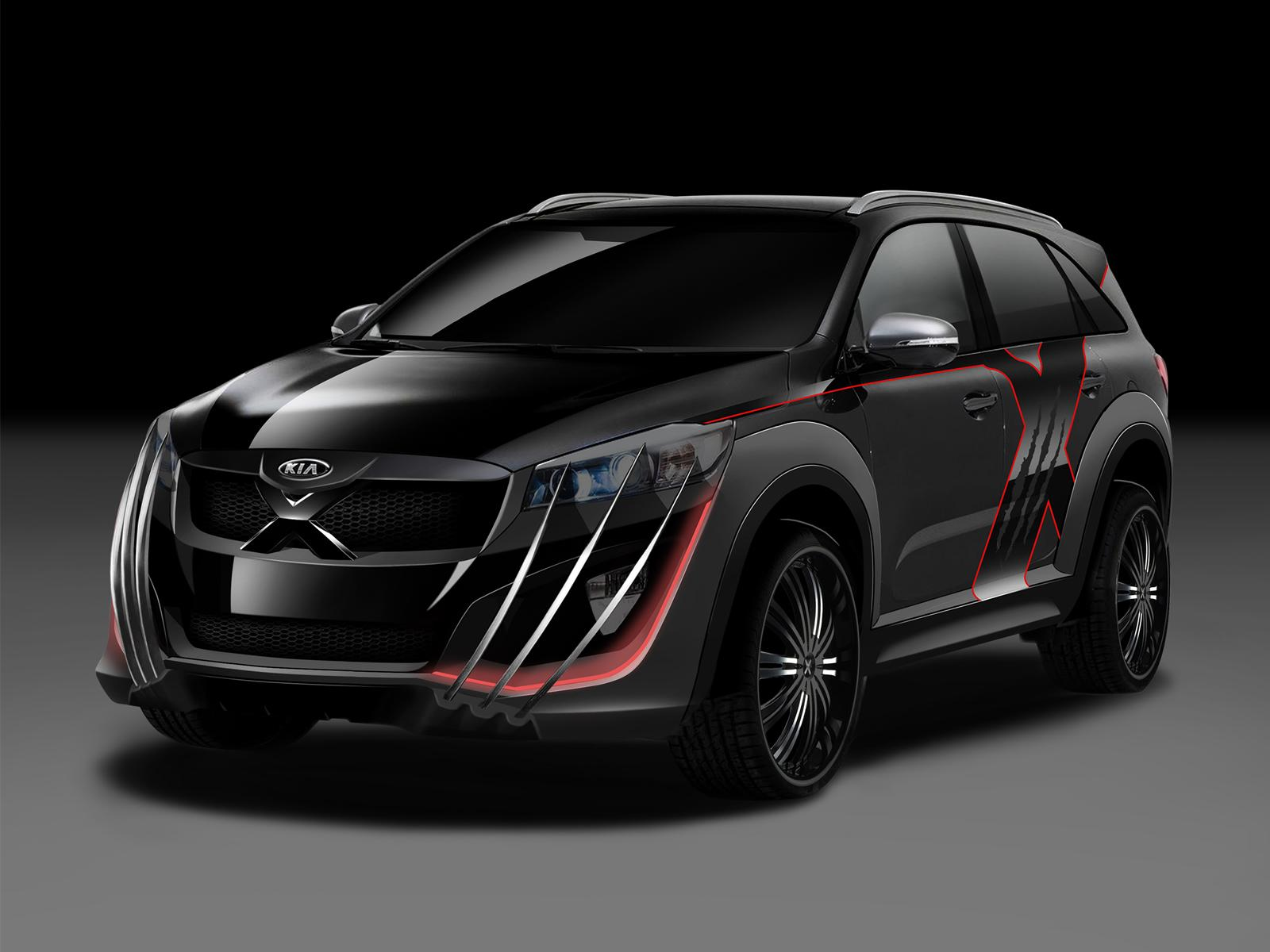 Wolverine's Kia Sorento is an X-Men Promo Vehicle ...