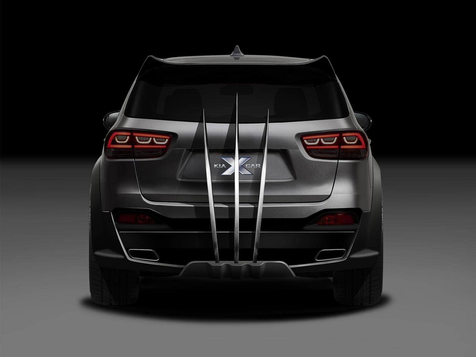 Black Kia Sorento >> Wolverine's Kia Sorento is an X-Men Promo Vehicle - autoevolution
