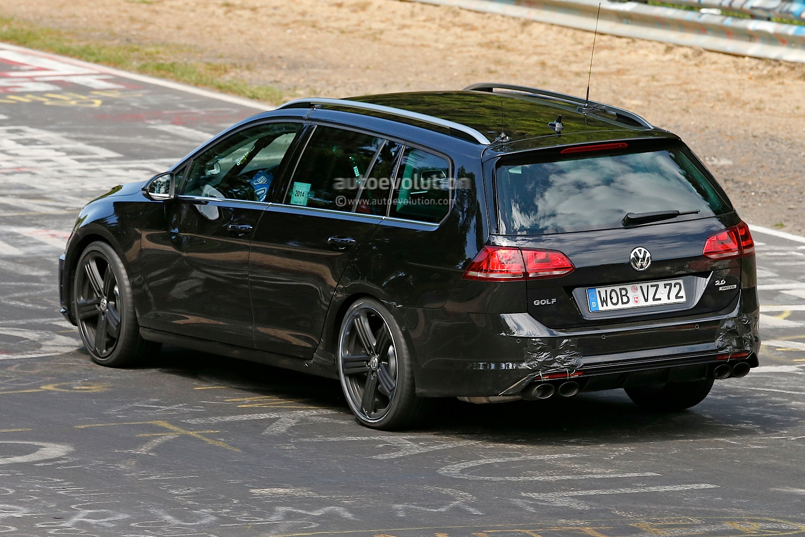 Word from the 'Ring: VW Still Undecided on Golf R Estate - autoevolution