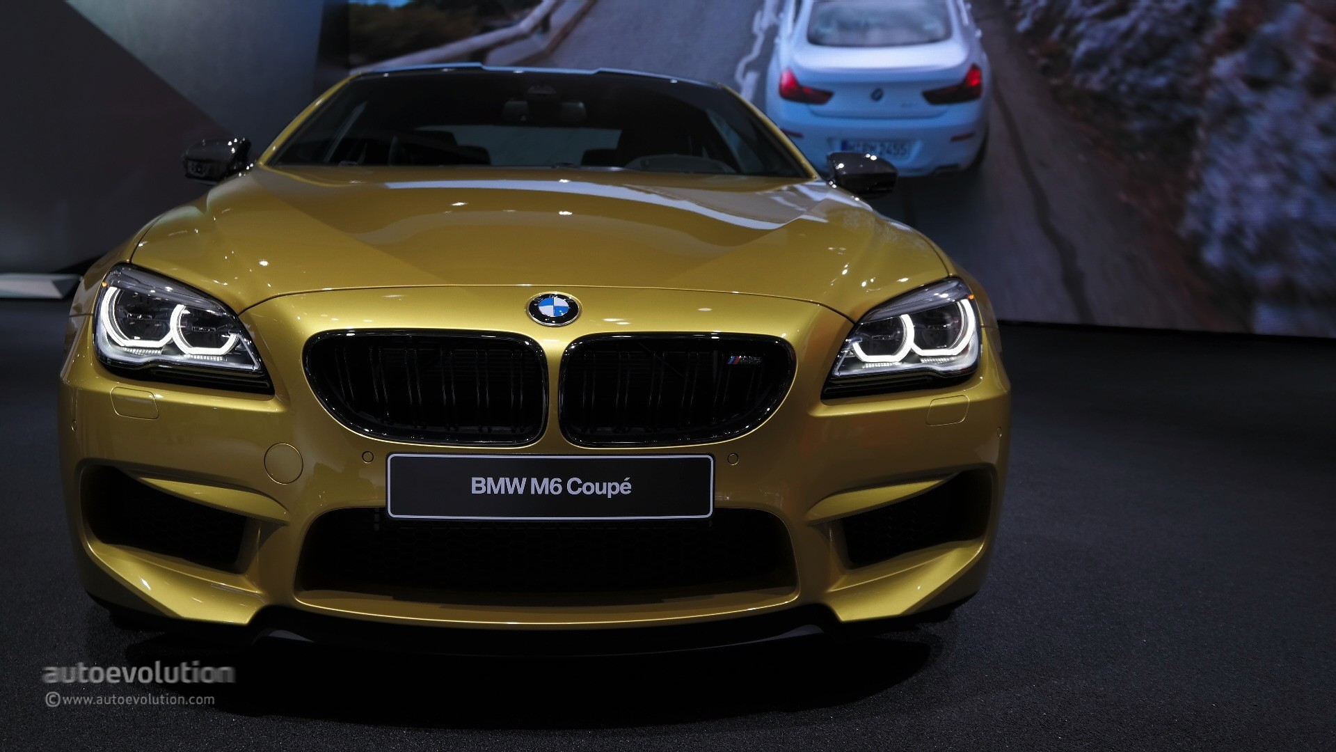 Marina Auto Body >> World Debut for 2015 BMW M6 LCI in Austin Yellow at the ...
