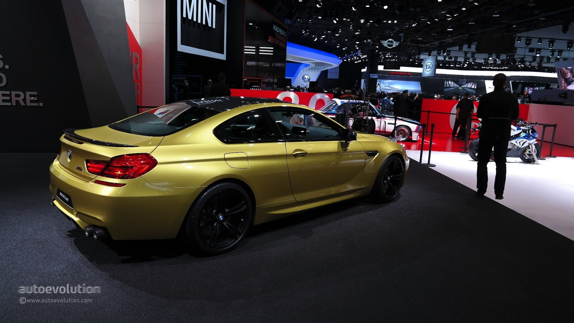 World Car Kia >> World Debut for 2015 BMW M6 LCI in Austin Yellow at the ...