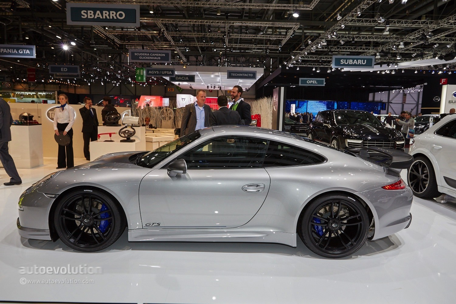 World Debut For Techart S Porsche 911 Gts At The Geneva