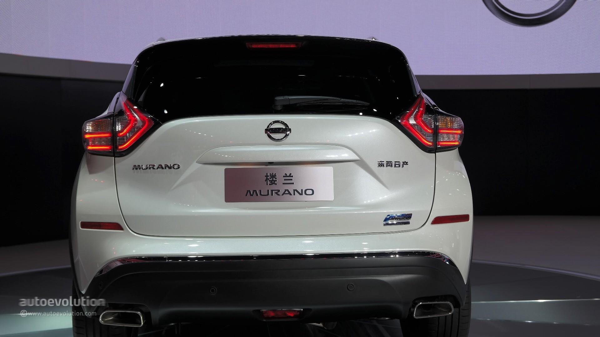 World Premiere for 2016 Nissan Murano Hybrid at Auto Shanghai 2015