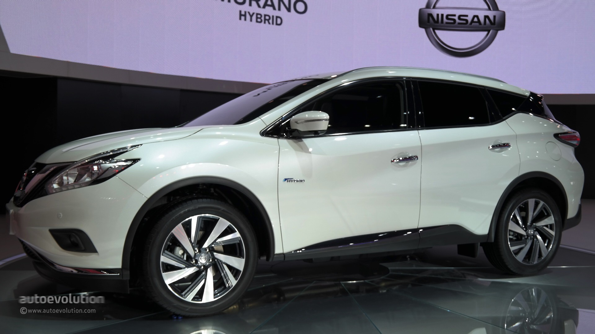 World Premiere For 2016 Nissan Murano Hybrid At Auto