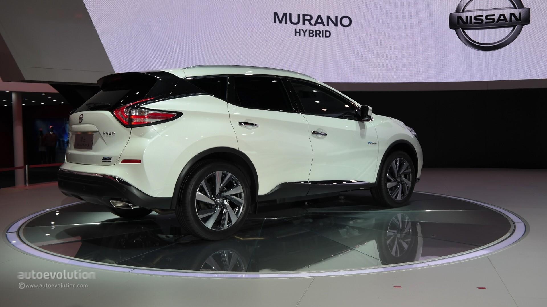 World premiere for 2016 nissan murano hybrid at auto shanghai 2015 autoevolution